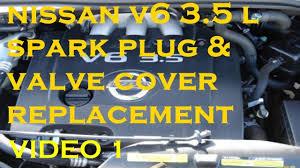 nissan murano bolt pattern video 1 nissan v6 replace spark plug u0026 valve cover remove window