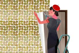 how to decorate furniture with wallpaper wallpapering