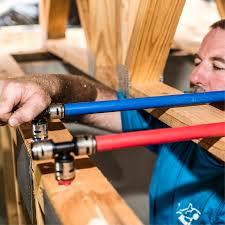 rough plumbing sharkbite evopex rough in plumbing for new construction