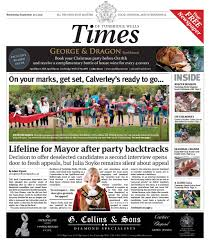 Christmas Party Tunbridge Wells - read the times of tunbridge wells 20th september 2017 times of