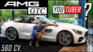 mercedes espa l mercedes amg gtc con un youtuber famoso presentación review en