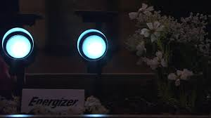 Spot Solar Lights by Energizer 2 Pc Solar Spot Flood Lights With Smart Focus With Dan
