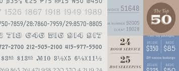 numbers fonts hoefler co