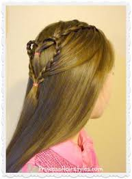 hairstyles for girl video 848 best princess hairstyles how to hairstyles for girls images on