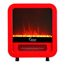 amazon com caesar hardware electric fireplace portable mini