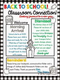 classroom newsletter templates 100 images weekly newsletter