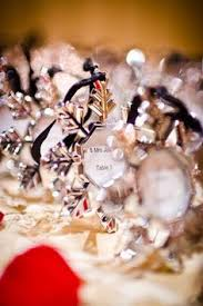 details about silver winter snowflake photo place card holder
