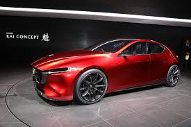 mazda kai concept ups the compact hatchback ante automobile magazine