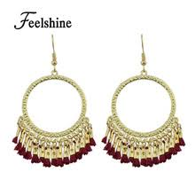 Chandelier Gold Earrings Compare Prices On Chandelier Style Earrings Online Shopping Buy