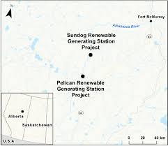 Map Of Fort Mcmurray Canadian Environmental Assessment Registry Environmental