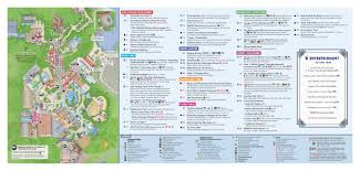 Disney World Epcot Map A Map Of Epcot A Map Of Dollywood A Map Of Kings Island A Map