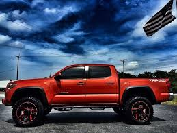 toyota tacoma road wheels toyota tacoma lifted trd road inferno leather xd n fab
