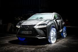 lexus top sports car crashed ice the best ever car ice sculptures by car magazine