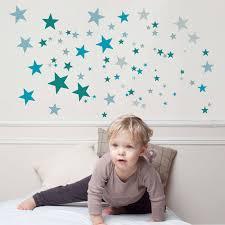 stickers étoiles chambre bébé stickers etoiles constellation bleue for