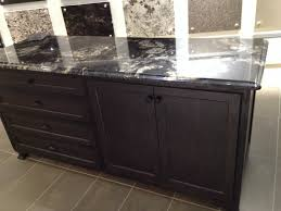 Kitchens With Dark Brown Cabinets Black Titanium Granite With Dark Brown Cabinets Home Pinterest