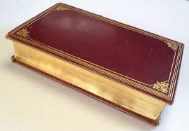 leather bound photo book leather bound book with gold tooling the essays of elia 1923