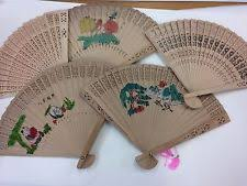 bamboo fans bamboo vintage fans ebay