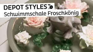 Deko Wohnzimmer Depot Depot Styles Schwimmschale Froschkönig Sommerliche Deko Für