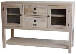 Unfinished Furniture Sideboard Archbold Furniture Allwood Accents Solid Wood 47