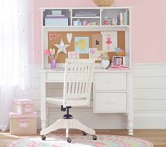 catalina storage desk u0026 tall hutch pottery barn kids