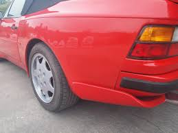 drift porsche 944 red porsche 944 cab u2013 rear quarter repair augment automotive limited