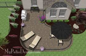 Patio Layout Design L Shaped Patio Design Patio Layout And Material List