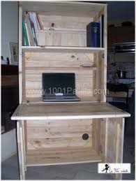 Diy Pallet Computer Desk Picture Charming Retro Home Office by Best 25 Pallet Furniture Office Ideas On Pinterest Pallet