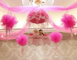 wedding backdrop tulle fashion ribbon roll organza tulle yarn chair covers accessories