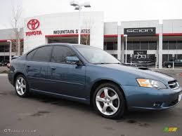 toyota subaru 2005 2005 atlantic blue pearl subaru legacy 2 5 gt limited sedan