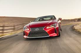 red lexus 2018 2018 lexus lc 500 first look review motor trend