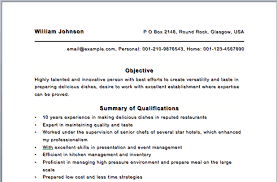 Resume Sous Chef Personal Chef Resume Sous Chef Resume Template Private Chef