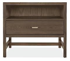berkeley wood nightstands modern nightstands modern bedroom