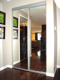 Mirror Bypass Closet Doors Closet Bypass Closet Door Lock Baby Proofing Sliding Closet