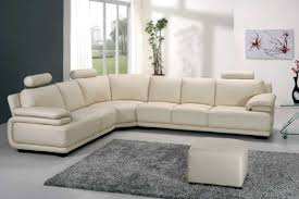 White Leather Sectional Sofa Vig Furniture A31 Modern White Leather Sectional Sofa
