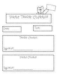 117 best parent teacher conference ideas images on pinterest