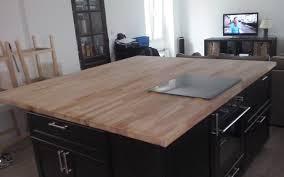 table haute ilot central ilot central rangement cuisine cuisine en image