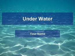 underwater template