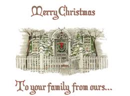merry to your family from ours