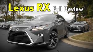 lexus rx 350 mpg 2017 lexus rx 350 full review luxury premium base u0026 f sport