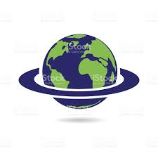 Map Of The Earth World Globe Map Of The Earth Illustration Stock Vector Art