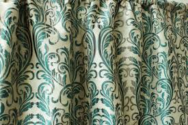 Teal Damask Curtains Teal Silk Damask Curtain Panels 50 Beige Gold Damask Cotton