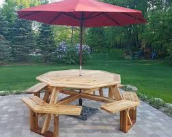 Cedar Patio Table Patio Furniture Etsy