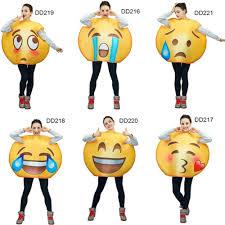 emoji costume aliexpress buy 2017 unsiex emoji costumesface series