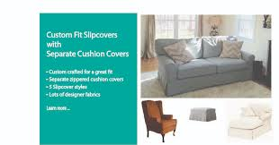 Custom Sofa Slipcovers by Needle U0026 Shears Custom Made Designer Slipcovers