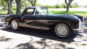 1956 corvette convertible chevrolet corvette convertible 1956 tuxedo black for sale