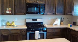 kitchen no backsplash before kitchen backsplash contractor kurt