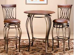 Wooden Bistro Chairs Brilliant Bistro Tables And Chairs Iron High Table Legs Wooden