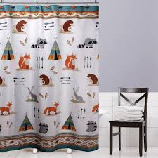 Fabric Shower Curtains With Valance Brilliant Unique Fabric Shower Curtains Decorating With Decoration