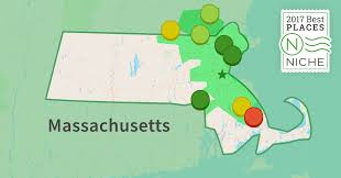 Map Of Boston And Surrounding Area by 2017 Best Boston Area Suburbs To Live Niche