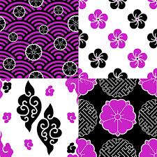 we patterns stock vector illustration of black 68689771
